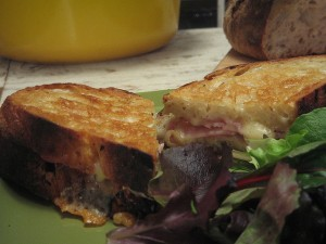 Asteburu honetan: Croque-monsieur (mixtoa)